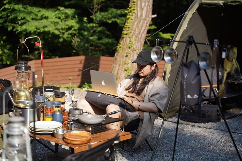 camp 24. 白州フィールド WiFiアリ