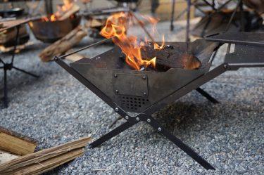 ZULU GEAR ZG-X1レビュー。無骨な風合い&高い調理スキルの焚き火台。